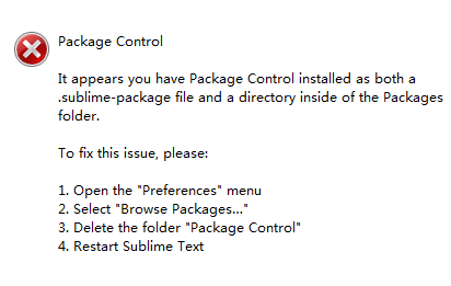 Sublime Text 3安装Package Control